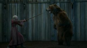 brienne y el oso