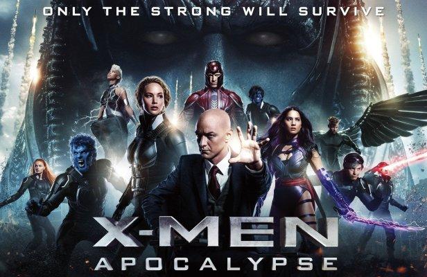 x men apocalipsis poster