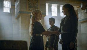 daenerys, theon y yara